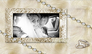 Wedding slideshow theme